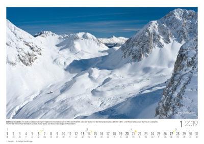 Südliches Karwendel<br>Am Ende des Samertals liegt im idyllischen Hochalmkessel der Pfeis die Pfeishütte. Links die Westwand der Stempeljochspitze, dahinter Latten- und Pfeiser Spitze sowie die Thaurer Jochspitze. Rechts das Gleirschtaler Brandjoch und die Rumer Spitze, am Horizont die Berge der Tuxer Alpen.