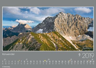 Karwendel<br>Von der Hochlandhütte führt der Weg durch liebliches Gelände hinauf zum Wörnersattel. Von hier geht es dann hochalpin weiter über den schroffen Nordgrat zum Wörnergipfel. Im Hintergrund verläuft die Nördliche Karwendelkette weiter über den Bäralpkopf zur Vogelkarspitze.